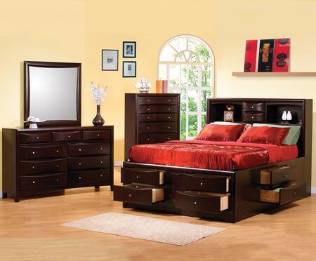 Coaster 200409KESET Phoenix King Bedroom Sets
