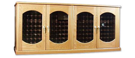 "Vinotemp VINO400CREDLEXJB 88"" Wine Cooler"