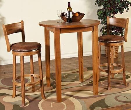 Sunny Designs 1278ROBT2SS Sedona Bar Table Sets
