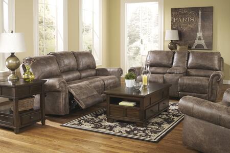 Milo Italia MI9387PSLRGUSM Brennan Living Room Sets