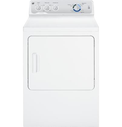 "GE GTDX400EDWS 27"" Electric Dryer"