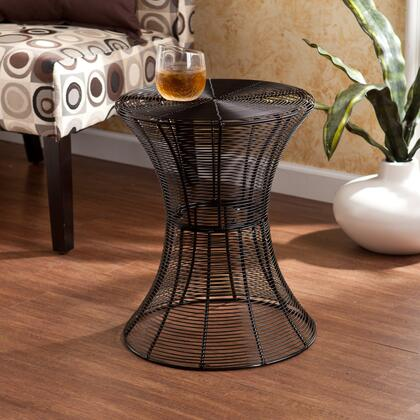 "Holly & Martin OC760 Indoor/Outdoor 18.5"" Round Metal Accent Table"