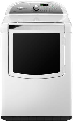 """Whirlpool WGD8600YW 29"""" Gas Cabrio Series Gas Dryer with  Steam Cycle