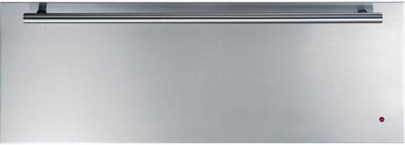 GE Monogram ZJx000SJSS Warming Drawer with Infinite Setting Temperature Control, Variable Humidity Control and Ball Bearing Door Glides, in Stainless Steel