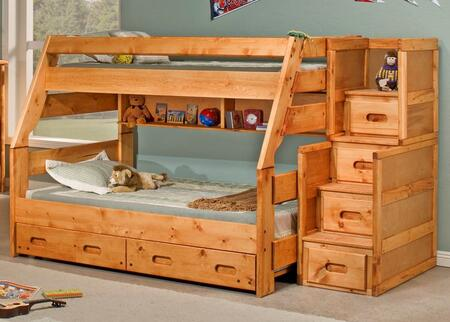 Chelsea Home Furniture 35447204754  Twin over Full Size Bunk Bed