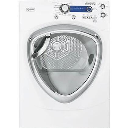 GE PFDS450GLWW Profile Series Gas Dryer, in White