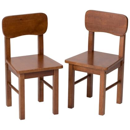 Gift Mark 1409 X Pair Of Solid and Durable Round Back Chairs in