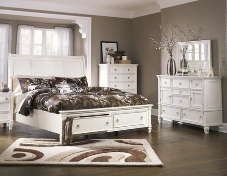 Milo Italia BR768KSBDM Hanson King Bedroom Sets