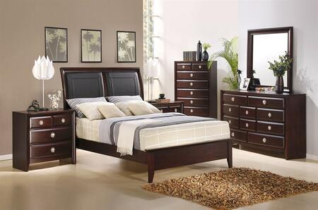 Accent HA870401BEDROOMSET4 Arlington King Bedroom Sets