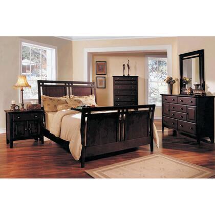 Yuan Tai GV3501KCHSET Giovanna Series 5 Piece Bedroom Set