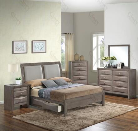 Glory Furniture G1505DDKSB2DMN G1505 King Bedroom Sets