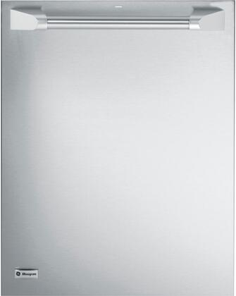 """GE Monogram ZDT800SPFSS 24""""  Built In Fully Integrated Dishwasher with 16 Place Settings Place Settingin Stainless Steel"""