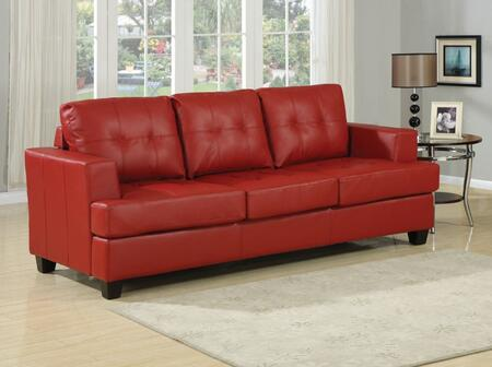 Acme Furniture 15063B Platinum Series Pull-Out Bonded Leather Sofa