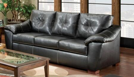Chelsea Home Furniture 181253-411X Essex Sofa, Medium Cushion Firmness, and Bonded Leather Upholstery