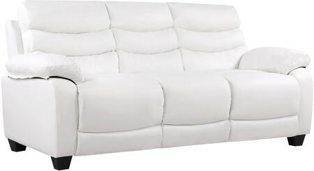 Glory Furniture G560S  Stationary Faux Leather Sofa