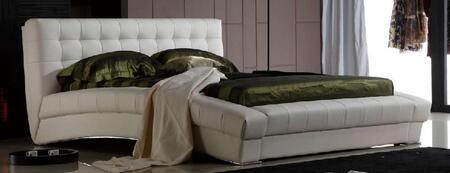 Diamond Sofa BELAIREBEDEKW Belair Series  Eastern King Size Platform Bed