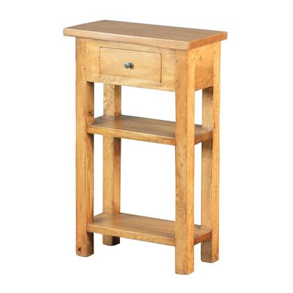 Sterling 6500830 Riverside Series Traditional Wood Rectangular 1 Drawers End Table