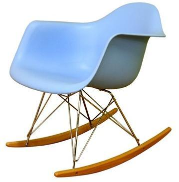 Wholesale Interiors DC311WBLUE  Rocking Chair in Blue |Appliances Connection