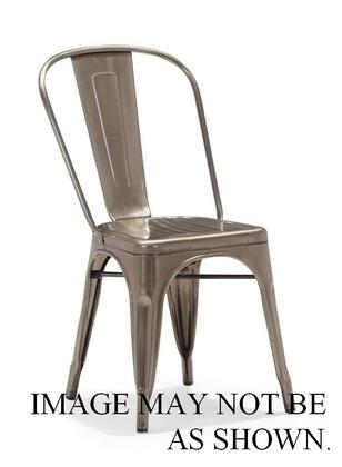 Zuo 108142 Modern Gunmetal Frame Dining Room Chair