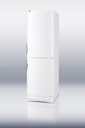Summit CP171W  White Counter Depth Bottom Freezer Refrigerator with 12.0 cu. ft. Capacity