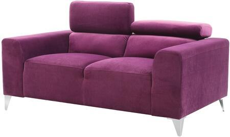 Glory Furniture G335L Suede Stationary with Metal Frame Loveseat
