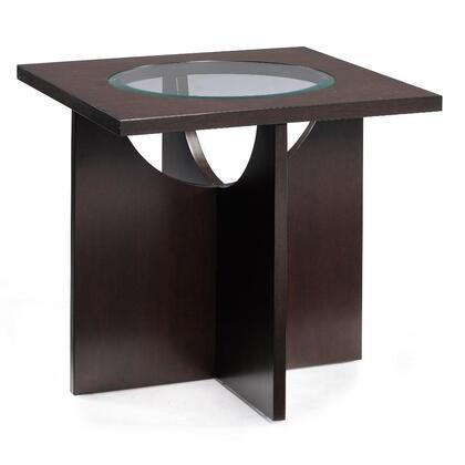 Magnussen T180701 Ozino Series Contemporary Square End Table