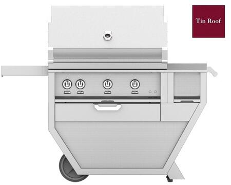 54 in. Deluxe Grill with Worktop   Tin Roof