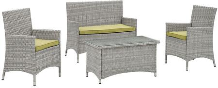 Modway EEI2212LGRPER Contemporary Patio Sets