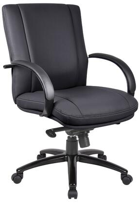 "Boss AELE62BBK 27"" Contemporary Office Chair"