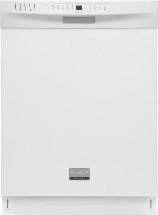 Frigidaire FGHD2455LW N/A Gallery Series Built-In Full Console Dishwasher