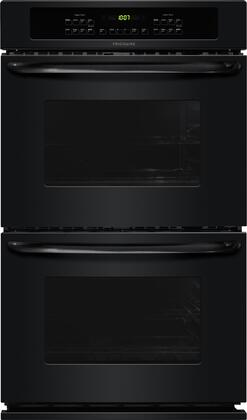 """Frigidaire FFET3025P 30"""" Double Electric Wall Oven with 4.6 cu. ft., Self-Clean Ovens, Delay Clean Option, Timed Cook Option, Keep Warm Setting, Bright Lighting, and Auto Oven Shut-Off in"""