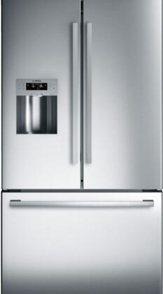 Bosch 800 Main Image ... & Bosch B26FT50SNS 36 Inch 800 Series French Door Refrigerator with 25 ...