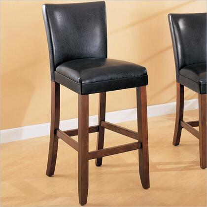 Coaster 100387 Telegraph Series Residential Faux Leather Upholstered Bar Stool