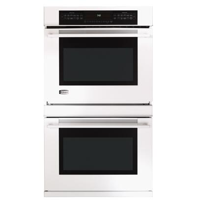 GE Monogram ZET958WFWW Double Wall Oven, in White