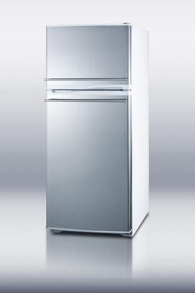Summit FF882WSSCH Freestanding Top Freezer Refrigerator with 8.86 cu. ft. Total Capacity 3 Wire Shelves