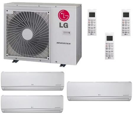LG 700834 Triple-Zone Mini Split Air Conditioners