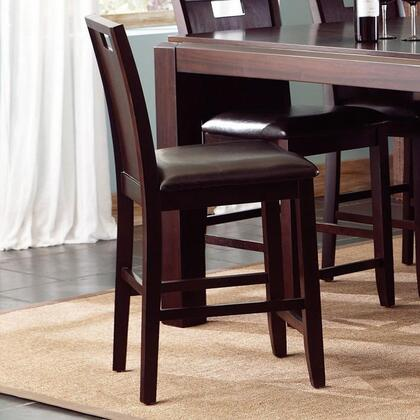 Coaster 102949 Prewitt Series Contemporary Vinyl Wood Frame Dining Room Chair