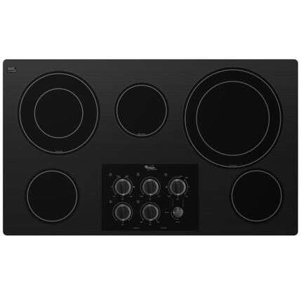 "Whirlpool G7CE3635XB 36"" Gold Series Electric Cooktop"