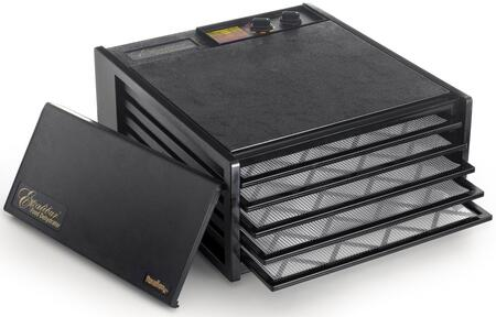 Excalibur x Deluxe Series Dehydrator with x Trays, x Sq. Ft. of Drying Area, Adjustable Thermostat, 26 Hour Timer, and 10 Year Limited Warranty in:
