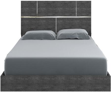 Casabianca TC9005QG Milo Series  Queen Size Panel Bed