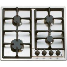 Verona VECTG424FS  Gas Sealed Burner Style Cooktop, in Stainless Steel