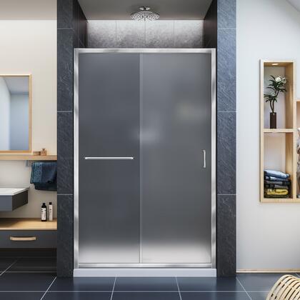 Infinity Z Shower Door 48 01
