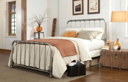 Queen Size Tristen Metal Bed
