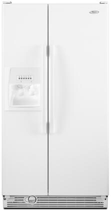 Whirlpool ED5DHEXWQ  Side by Side Refrigerator with 25.3 cu. ft. Capacity in White