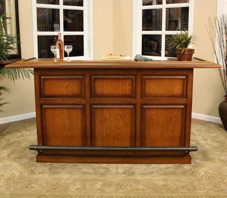 "American Heritage 600006VOSS Kokomo Series 84"" Home Bar,"
