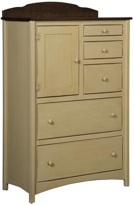 Chelsea Home Furniture 4650147BM Graces Series Wood Chest