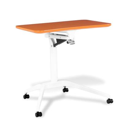 Picture of 201-ORA Workpad Height Adjustable Laptop Desk with Orange