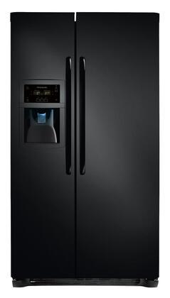 "Frigidaire FFSC2323LE 36"" Freestanding Side by Side Refrigerator  Appliances Connection"