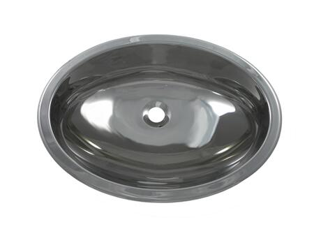 Opella 17186045 Stainless Steel, Polished Oval Sink