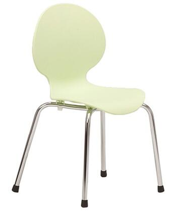 ITALMODERN L3290PSC Bunny-PP Junior Series Modern Not Upholstered Metal and Plastic Frame Dining Room Chair